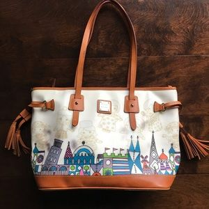 Disney Dooney Small World Shopper (flaws)